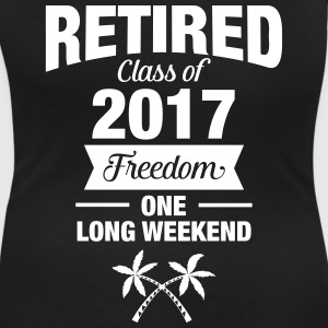 Retires Class Of 2017 - Freedom - One Long Weekend T-shirts - Dame-T-shirt med U-udkæring