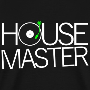 House Master Electronic Music Hausmeister Clubbing T-Shirts - Männer Premium T-Shirt