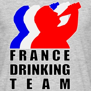 France Drinking Team Tee shirts - T-shirt Homme