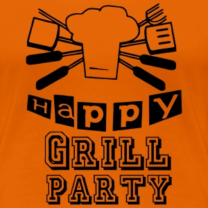 Happy Grillparty T-Shirts - Frauen Premium T-Shirt