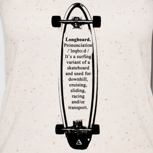 Longboard definition Tops - Frauen Bio Tank Top