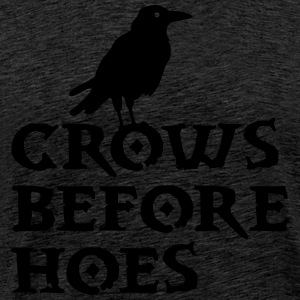 crows T-shirts - Mannen Premium T-shirt