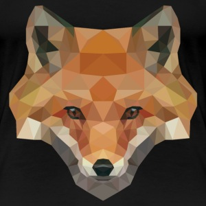 Polygon Fox T-Shirts - Frauen Premium T-Shirt