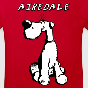 Happy Airedale Terrier T-Shirts - Kinder Bio-T-Shirt