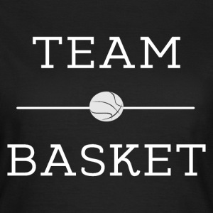 Team basket' t-shirt basketball Tee shirts - T-shirt Femme
