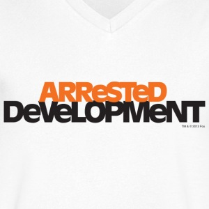 Arrested Development TV Series Title - Men's V-Neck T-Shirt
