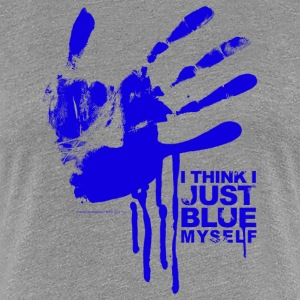 Arrested Development Just Blue Myself Quote - Maglietta Premium da donna