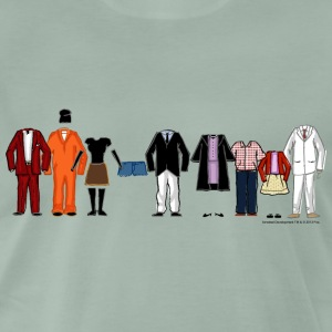 Arrested Development Bluth Family Lineup - Herre premium T-shirt