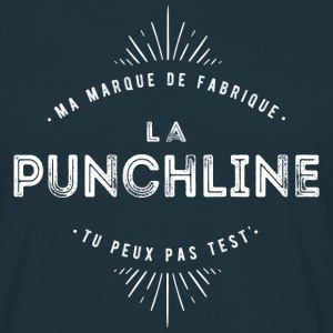 Punchline Tee shirts - T-shirt Homme