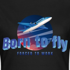 born_to_fly_05201703 T-Shirts - Frauen T-Shirt