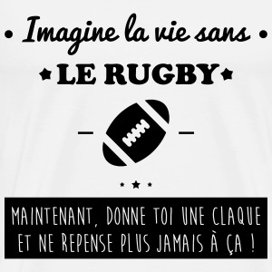 Le rugby,rugbyman Tee shirts - T-shirt Premium Homme