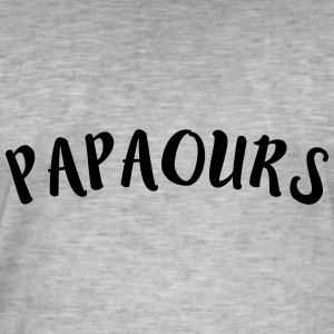 papa ours Tee shirts - T-shirt vintage Homme
