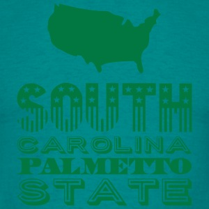 South Carolina palmetto state Tee shirts - T-shirt Homme