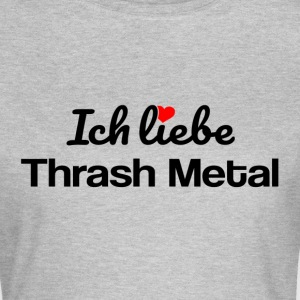 Thrash Metal T-Shirts - Frauen T-Shirt