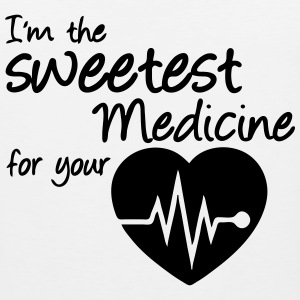 Sweetest Medicine Sports wear - Men's Premium Tank Top