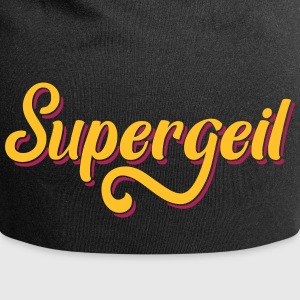 Supergeil German, Awesome, Cool Caps & Hats - Jersey Beanie