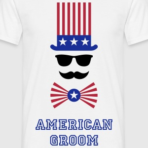 American Groom (Stag Party) T-Shirts - Männer T-Shirt