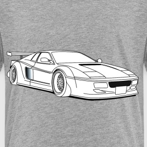 cool car white T-shirts - Premium-T-shirt barn