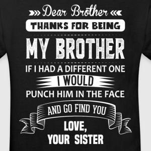 Dear Brother, Love, Your Sister Shirts - Kids' Organic T-shirt