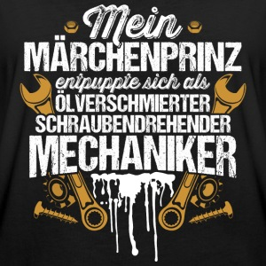 Mein Märchenprinz...Mechaniker T-Shirts - Frauen Oversize T-Shirt
