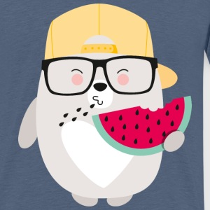 BEAR WITH MELON - Teenager Premium T-Shirt