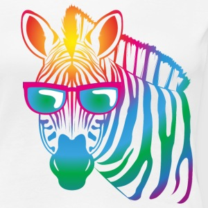 cool Zebra - Frauen Premium T-Shirt
