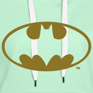 DC Comics Batman Logo gold - Premium hettegenser for kvinner