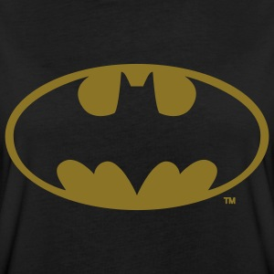 DC Comics Batman Logo in gold-metallic Optik - Frauen Oversize T-Shirt