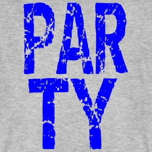Party blau T-Shirts - Männer Bio-T-Shirt