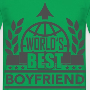 World's best Boyfriend 1 T-Shirts - Männer T-Shirt