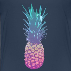 Bunte Ananas T-Shirts - Teenager Premium T-Shirt