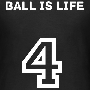 Footballer Clothing - Ball is life rundausschnitt  - Frauen T-Shirt