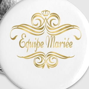 equipe_marie_swing_gold Badges - Badge grand 56 mm