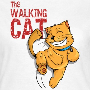The Walking Cat T-Shirts - Frauen T-Shirt