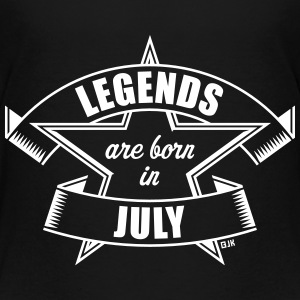 Legends are born in July (Birthday Present Gift) Shirts - Teenage Premium T-Shirt