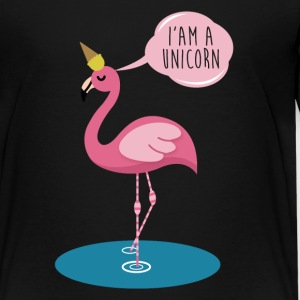 Flamingo Unicorn - I'am a Unicorn funny Shirt T-Shirts - Teenager Premium T-Shirt