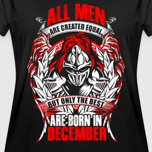 December - All men are created equal - EN T-shirts - Oversize-T-shirt dam