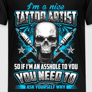 Nice Tattoo Artist - Tattoo - EN T-Shirts - Teenager Premium T-Shirt