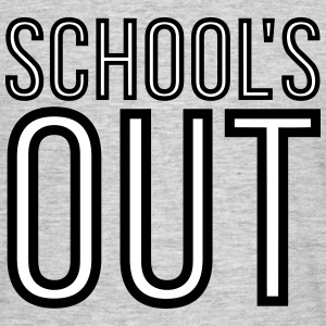 School's Out 2C T-Shirts - Männer T-Shirt