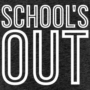 School's Out - Outline Edition T-Shirts - Teenager Premium T-Shirt