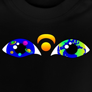 Space eyes.png Baby T-Shirts - Baby T-Shirt