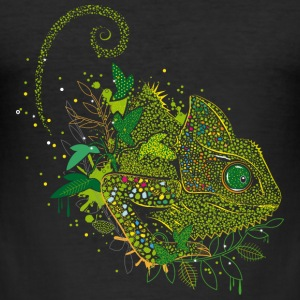 Chameleon T-Shirts - Männer Slim Fit T-Shirt