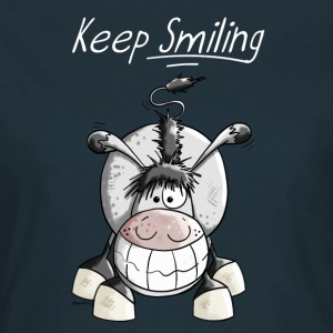Keep Smiling Esel T-Shirts - Frauen T-Shirt