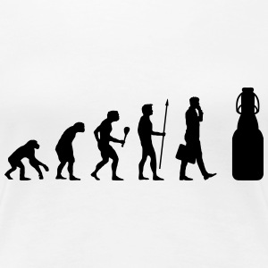 Alkohol - Evolution Bier T-Shirts - Frauen Premium T-Shirt
