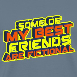 some of my best friends are fictional Vision Wahn T-Shirts - Männer Premium T-Shirt