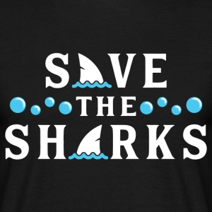 Save The Sharks T-Shirts - Men's T-Shirt