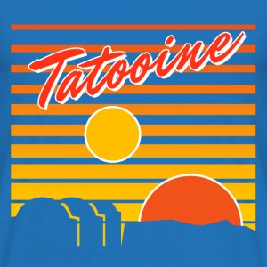 Tatooine travel - T-shirt Homme