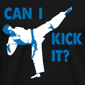Can I Kick It (blue) T-Shirt - Men's Premium T-Shirt