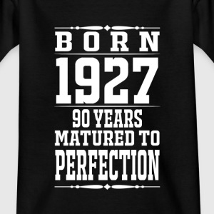 1927-90 years of perfection - 2017 - EN Shirts - Kids' T-Shirt