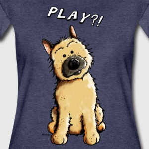 Cairn Terrier Play T-Shirts - Frauen Premium T-Shirt